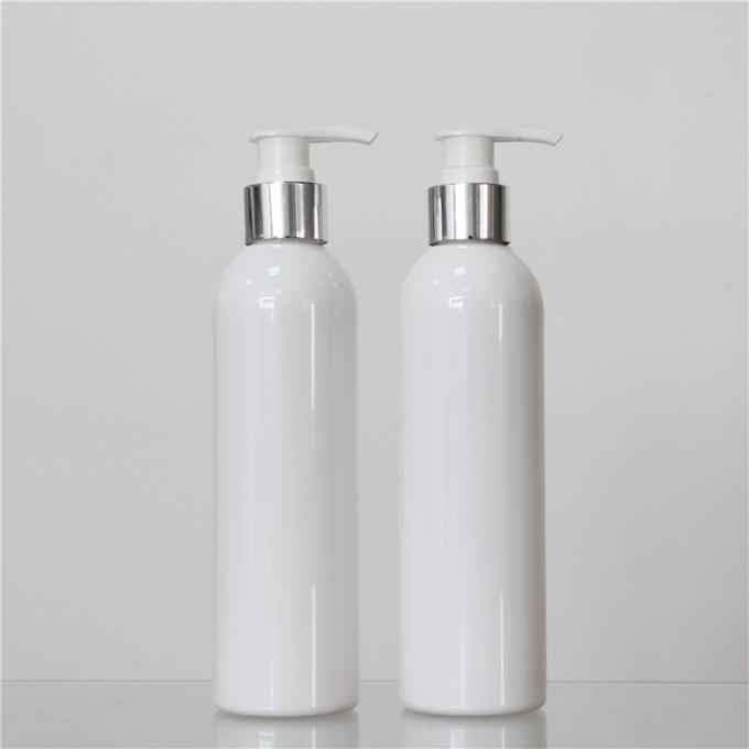 Round Shape Plastic Cosmetic Bottles , 250ml Plastic Bottle 28mm Neck Size