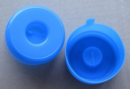 china latest news about 5 Gallon plastic bottle cap with bule color delivery to Boliva client