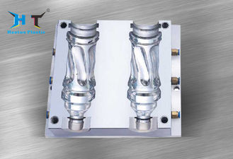 China Stainless steel 2 cavity mould , Custom Mineral mould in water bottle factory