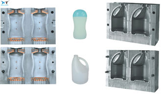 China Cosmetic Plastic Blowing Bottle Mould Polish Or Matts Surface Treatment factory