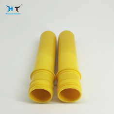 China Yellow Color 38mm Neck Pet Preform for 30 Ml - 1000 Ml bottle Capacity SGS Approved factory