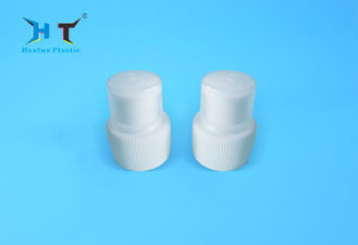 28 / 410 Push Pull Plastic Water Bottle Caps OEM / ODM With Dust Cover