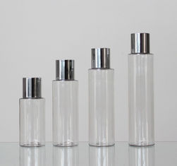 24mm Neck Size Round 60/80/100/120ml Plastic Lotion Cosmetic Bottle With Spray Lid
