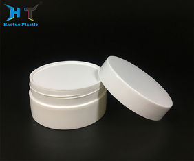 China ECO Friendly Small Plastic Jars 300 Gram Label Sticker With Screw Cap factory