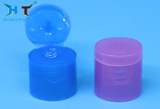 Polish Screw Flip Top Bottle Lids 18mm 18 / 410 For Cosmetic Bottle