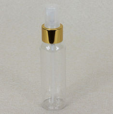 China 100ml PET Clear Cosmetic Serum Bottles 24 / 410 With Spray Dispenser factory