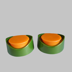 200ml 400ml Bottle Flip Top Plastic Caps Double Color Oval Closures