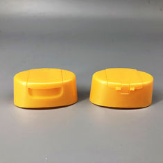 China Curved Shape Flip Top Dispensing Caps 24mm Snap Size ISO9001 Approved factory