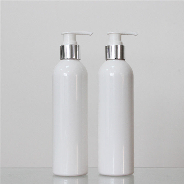 Round Shape Plastic Cosmetic Bottles , 250ml Plastic Bottle 28mm Neck Size supplier