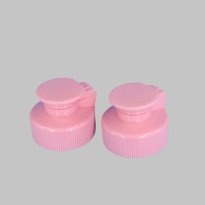 28 / 400 Plastic Screw Flip Top Lids Wear Resistant For Dish Washing Bottle